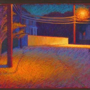 """SKIFF AVENUE, pastel, 32""""x 40"""", 2005, SOLD"""
