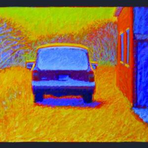 """FEBRUARY MORNING, oil, 20""""x 26"""", 2004, $900"""