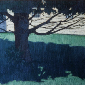 "ROCK MAPLE, pastel, 28""x 33"", 1979, SOLD"